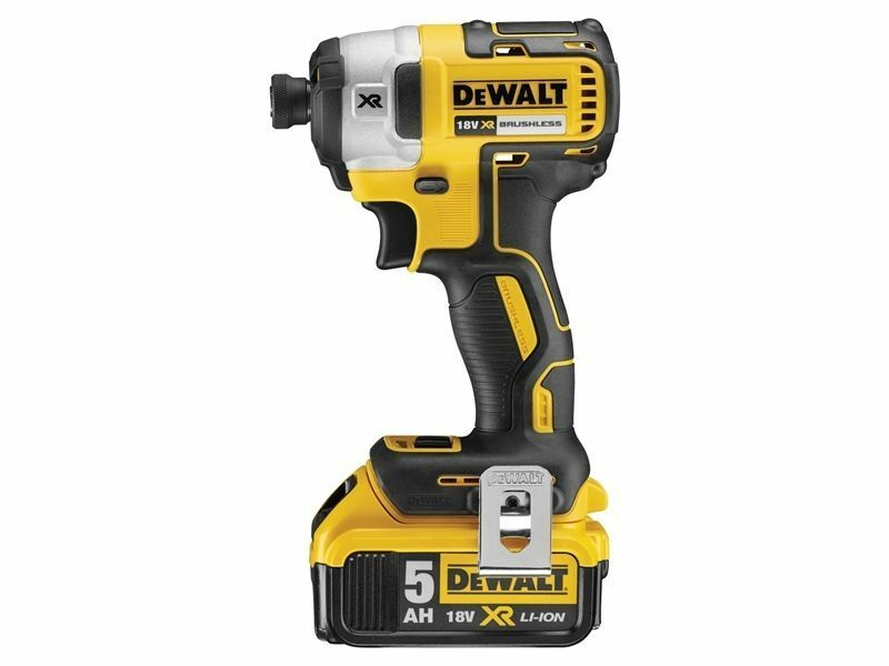 Dewalt DCF887P2 2nd Gen Brushless Impact Driver c/w 2 x 5.0Ah Batts & Charger
