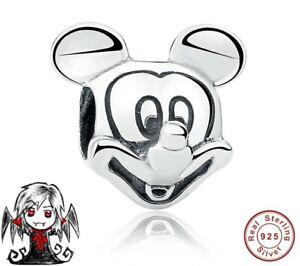 Charms-abalorio-plata-ley-Mickey-pulsera-europea