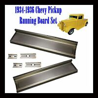 1934 1935 1936 Gmc Chevy Pickup Truck 1/2 Ton And Panel Delivery Running Boards