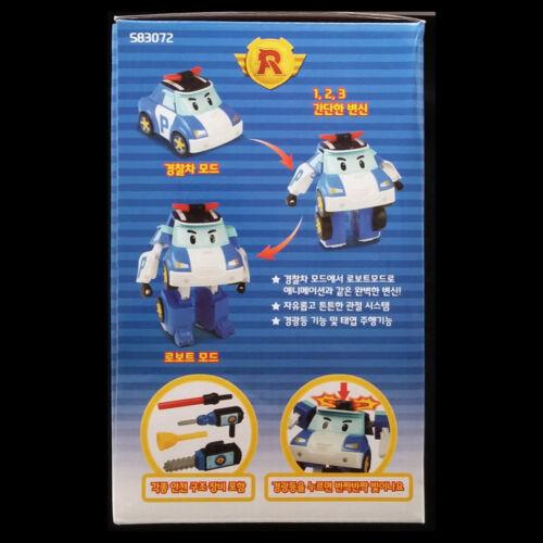 Robocar Poli DELUXE POLI /& BASE CAMP GARAGE PLAY SET Transforming Figure Toy New