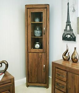 Mayan-glazed-corner-display-cabinet-unit-solid-walnut-dark-wood-furniture
