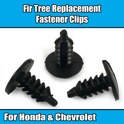 10x Clips Pour CHEVROLET /& Honda sapin en plastique 4.2 mm Fasteners 91652-SZ3-003