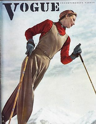 VOGUE December 15 1937 Toni Frissell Duchess of Windsor Chanel Schiaparelli