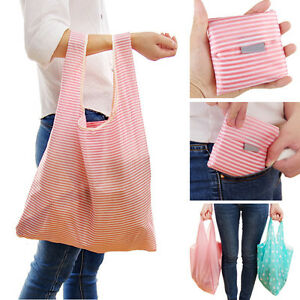 df6b669ff67 Great Women Foldable Reusable Nylon Eco Storage Travel Shopping Tote ...