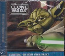 The Clone Wars 1 - Der Hinterhalt / Der Angriff Der Malevolence CD