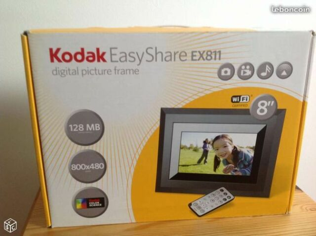 Kodak Easyshare Ex 811 8 Inch Digital Picture Frame With Wireless