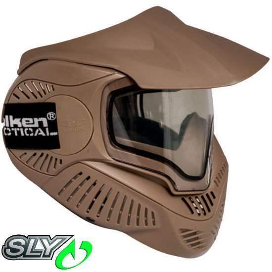 Sly Annex  mi-7 paintball thermalmaske (Earth tan)  popular