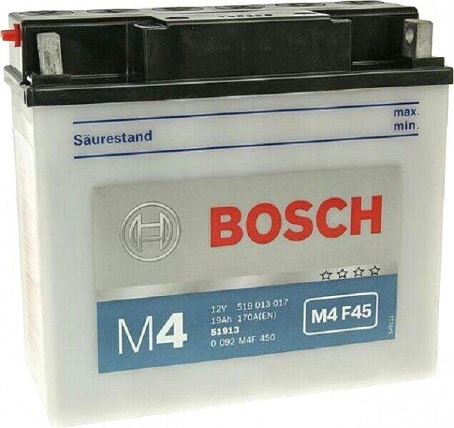 Batería Bosch 51913 12V 19AH BMW K1100 Lt 1992 1993 1994 1995 1996 1997 1998