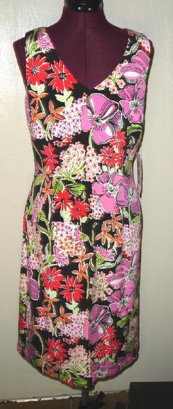 LILLY PULITZER FLOWER MARKET SILK LENA DRESS 2