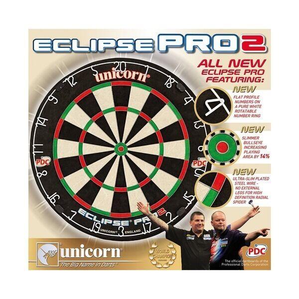 Unicorn Eclipse pro Harrows 2 Dartscheibe & Gorilla Harrows pro Tragbar Ständer 777312
