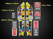Rock Shox Bluto 2014 Style Suspension Fork Decal/Stickers rxb01