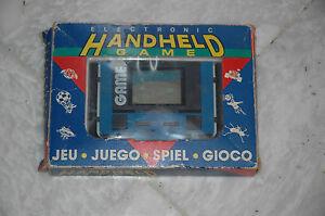 Rara De Coleccion Anos 80 Lcd Portatil Juego Electronico Reloj Nuevo