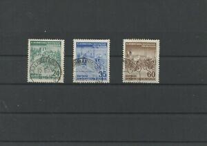 Germany-GDR-vintage-yearset-1953-Mi-355-357-Postmarked-Used-More-Sh-Shop-1
