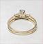 thumbnail 7 - Harold Freeman 14K Gold Brilliant Cut Diamond Estate Engagement Wedding Ring
