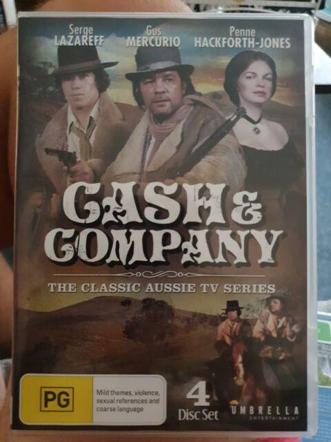 Cash & Company (DVD, 2014, 4-Disc Set), rare, mint condition, Australian classic