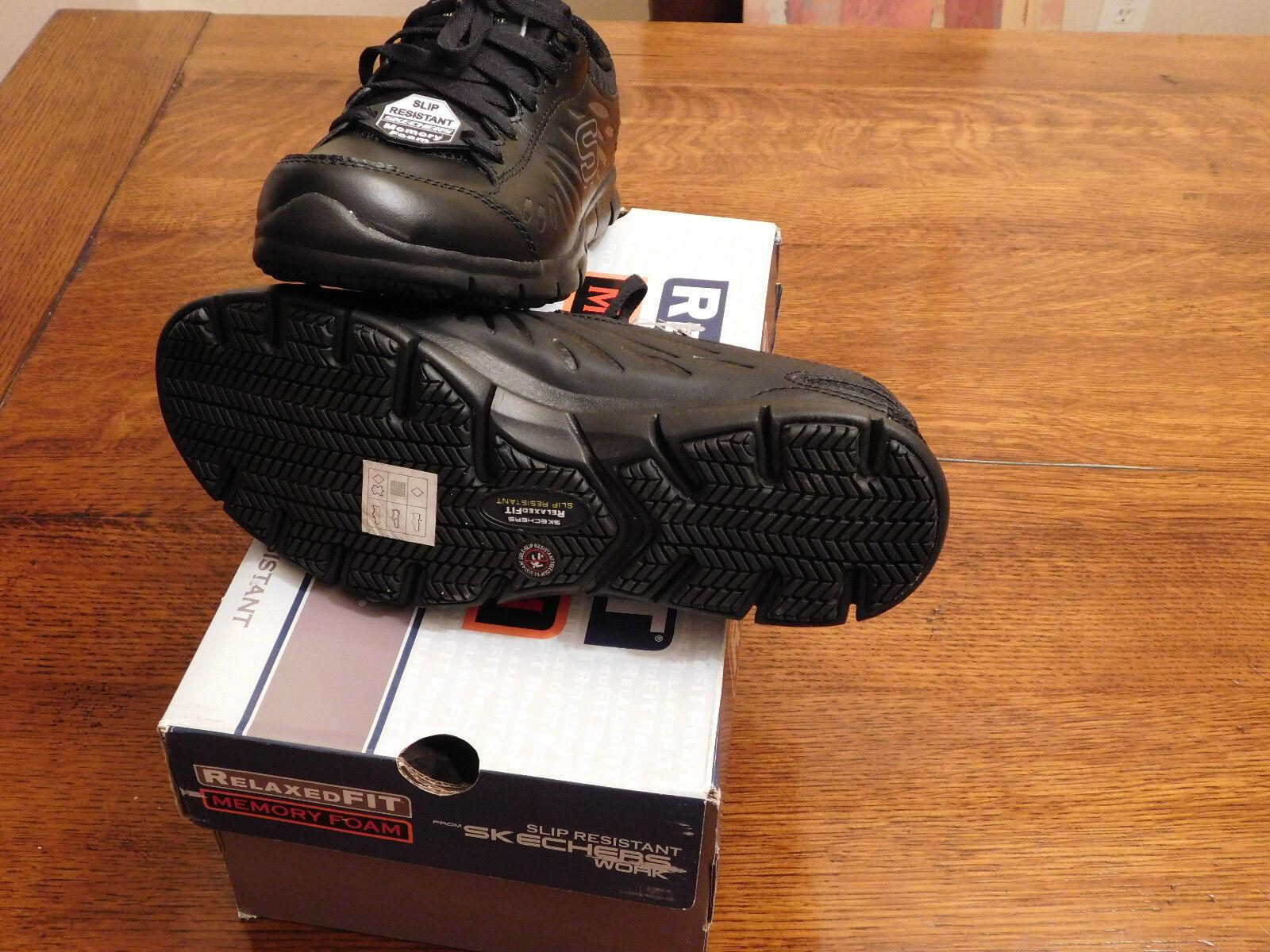 Brand New Skechers Memory Foam, Slip resistant  8.5