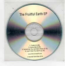 (FV517) The Fruitful Earth, Firebird EP - 2014 DJ CD