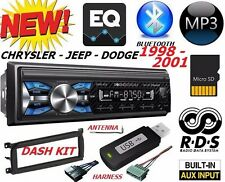 98 99 00 01 CHRYSLER JEEP DODGE BLUETOOTH USB SD AUX CAR RADIO STEREO