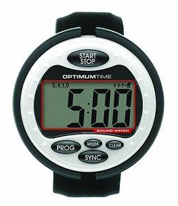 Optimum-Time-OS310-Big-White-Sailing-Watch-FREE-1st-Class-Delivery