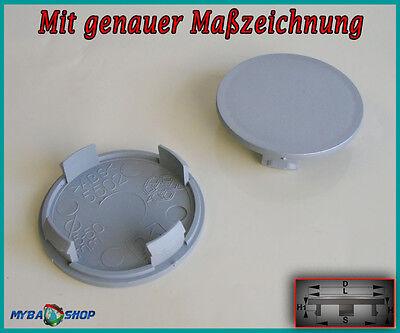 MYBA-S 4X Tapacubos 54,5 mm // 50 mm
