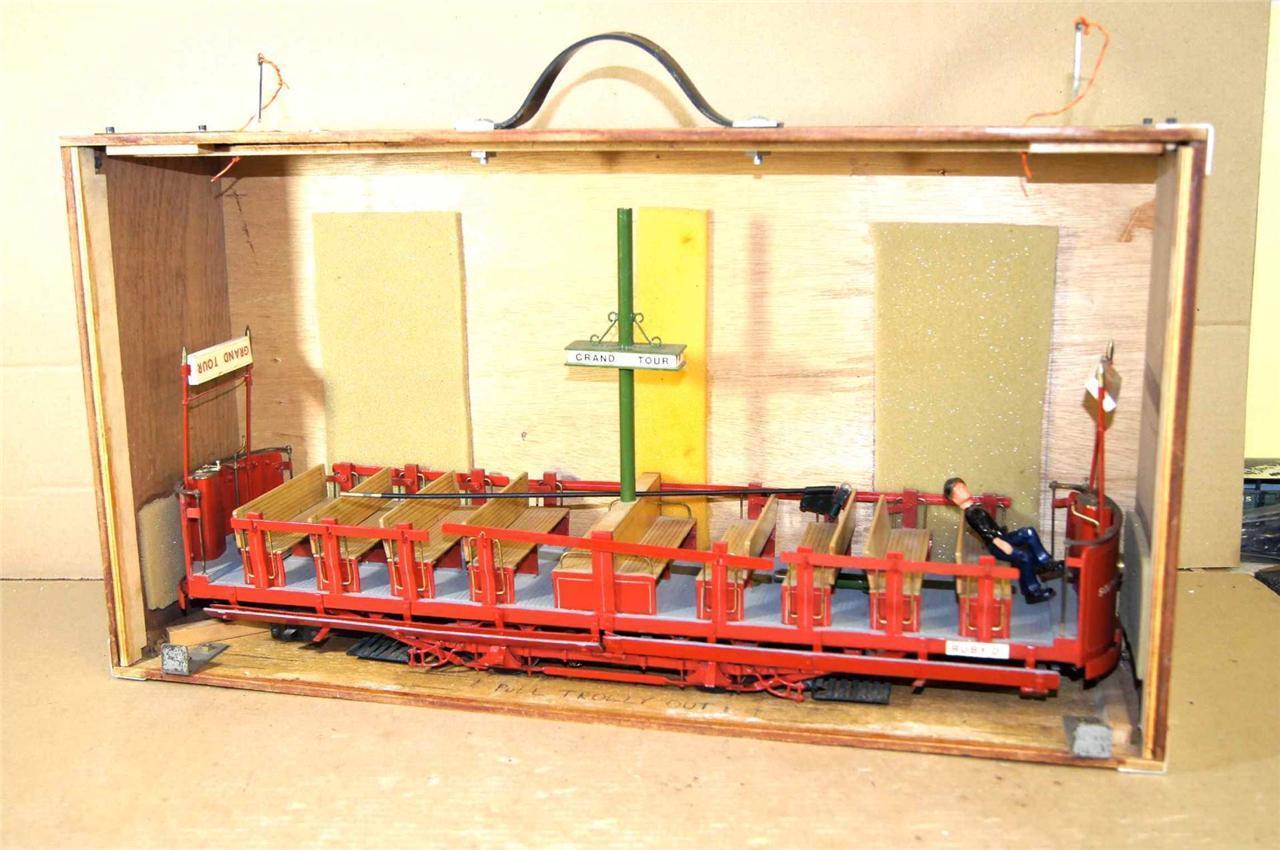 Graffi Kit Costruito 8.9cm Controllo Southport Corp Tourist Aperto Tram Trolley