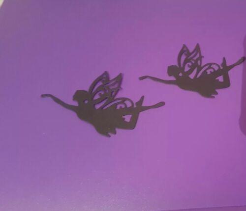 Confezione da 20 Silhouette fate-Die Cut Toppers-FATA//Candela//barattoli di vetro