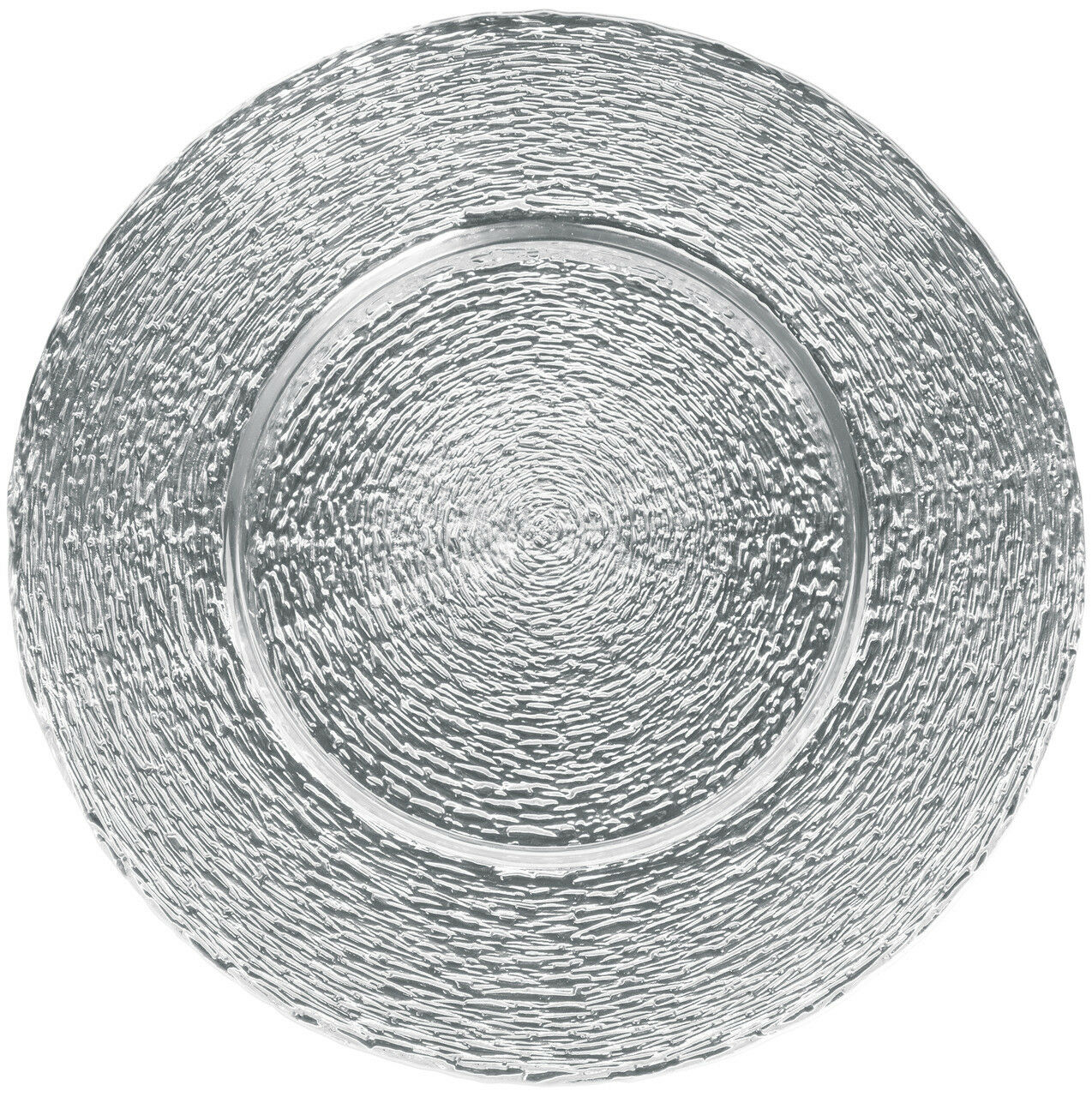 Sous-assiette assiettes en verre assiette,6 pièces, Couleur Unie