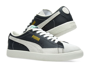 Puma Puma Puma Basket 90680 Suede Black White Men SZ 8 - 12 5b9a87
