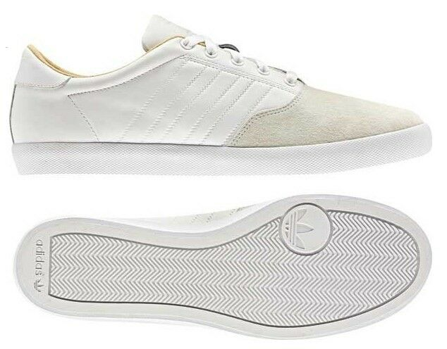 Adidas Originals Adi MC Lo BOYS White Leather & Suede Trainers SALE !!! The most popular shoes for men and women