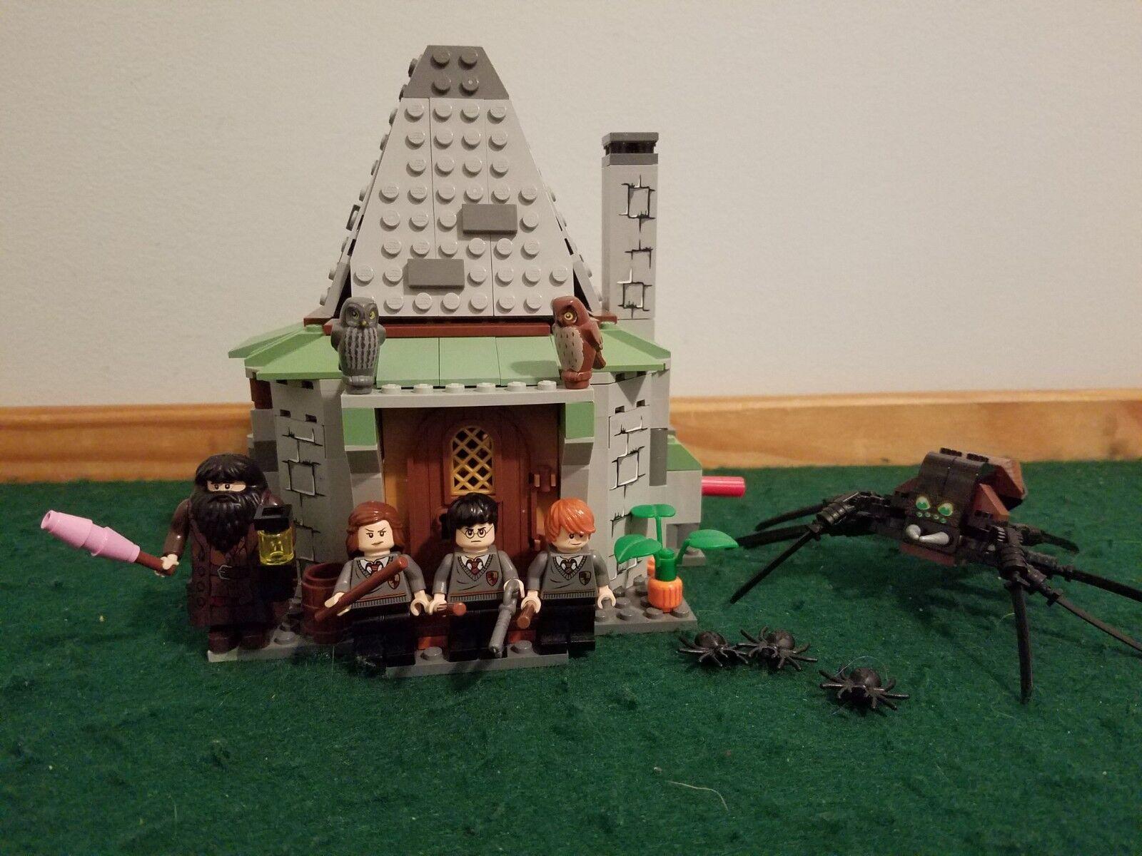 Harry Potter Lego Set 4738 Hagrid's Hut – Complete w  Minifigs