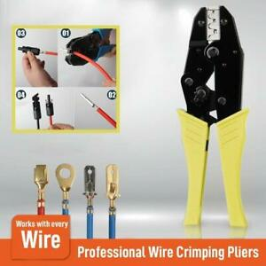 Wire-Crimpling-Pliers-Professional-Wire-Crimpers-Engineering-Ratchet-Terminal