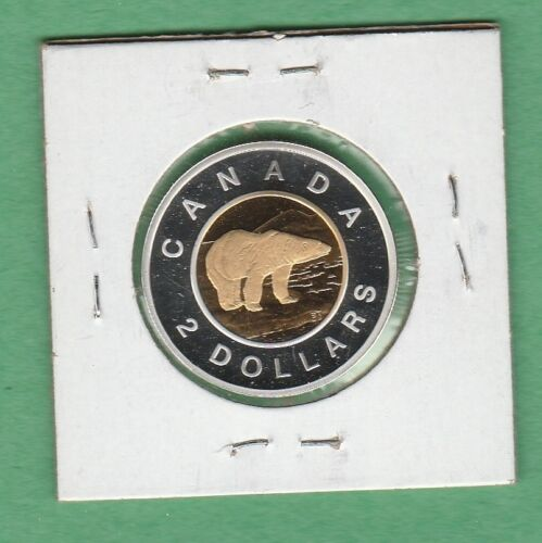 2009 $2 Canadian coin From Proof Set