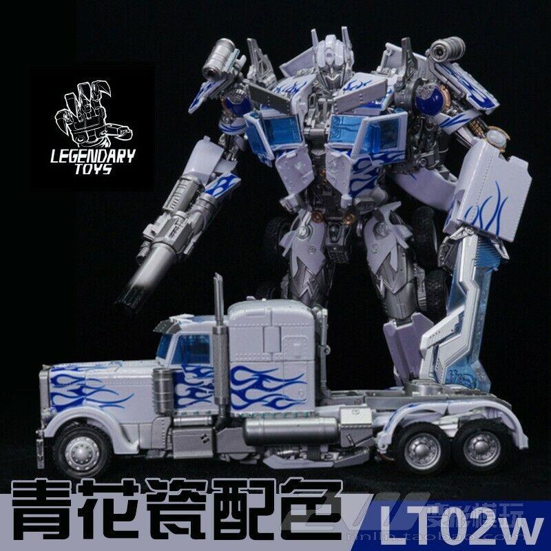 Lgendary Transformers MPM-04 bianca LT02-W blu and bianca porcelain Optimus Prime