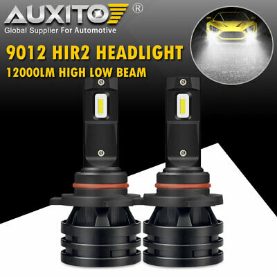 2X AUXITO 9012 LED Headlight Bulb Hi//Lo Beam Conversion Kit 20000LM Headlamp M2