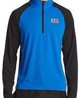 Bear Grylls Craghoppers Technical 1/4-zip Long Sleeve Mock T-shirt Blue/black