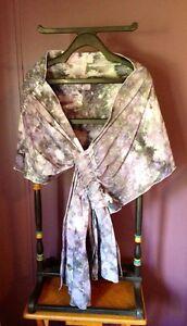 Ice-dyed-Wrap-Beautiful-Gem-Quality-Design-Black-amp-Grey-Heavier-Cotton-Gauze