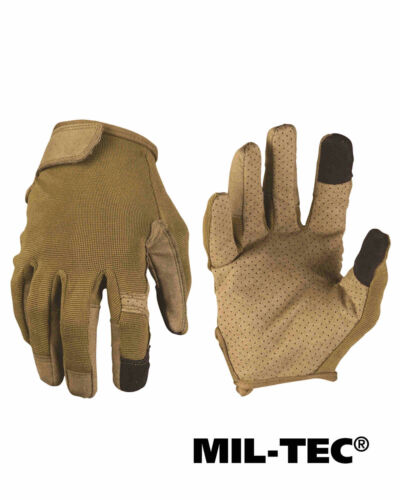Mil-Tec EINSATZHANDSCHUHE TOUCH OLIV Fingerhandschuh Handschuh