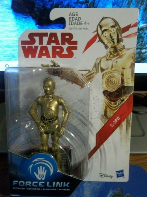 The Last Jedi 3.75 Inch Scale Force Link C-3PO Action Figure
