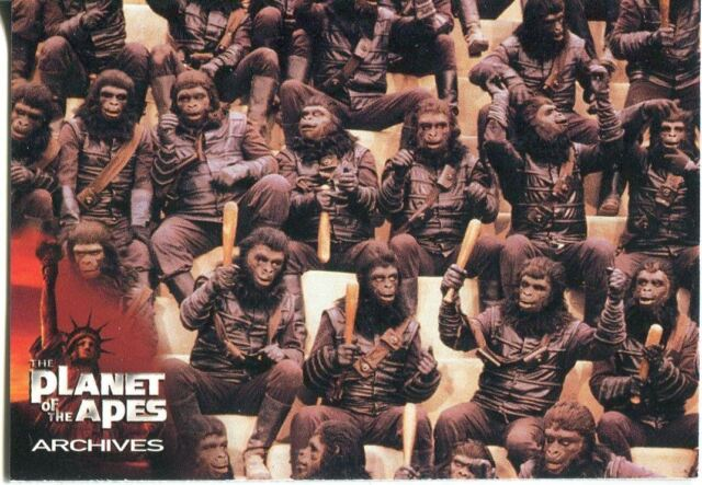 Planet Of The Apes Archives Promo Card P2