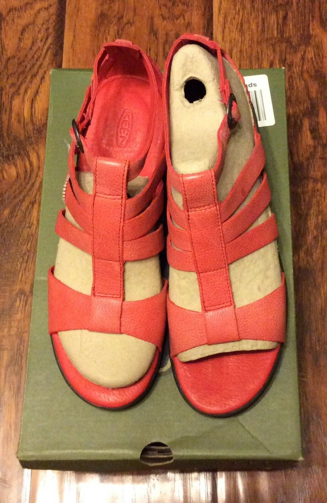 Women's Leather Sandals by Keen size 8.5
