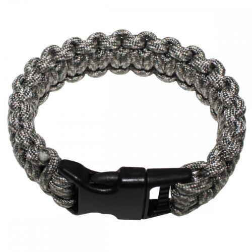 Armband Parachute Cord Breite 2,3 cm Survival Outdoor Bracelet Survivalarmband