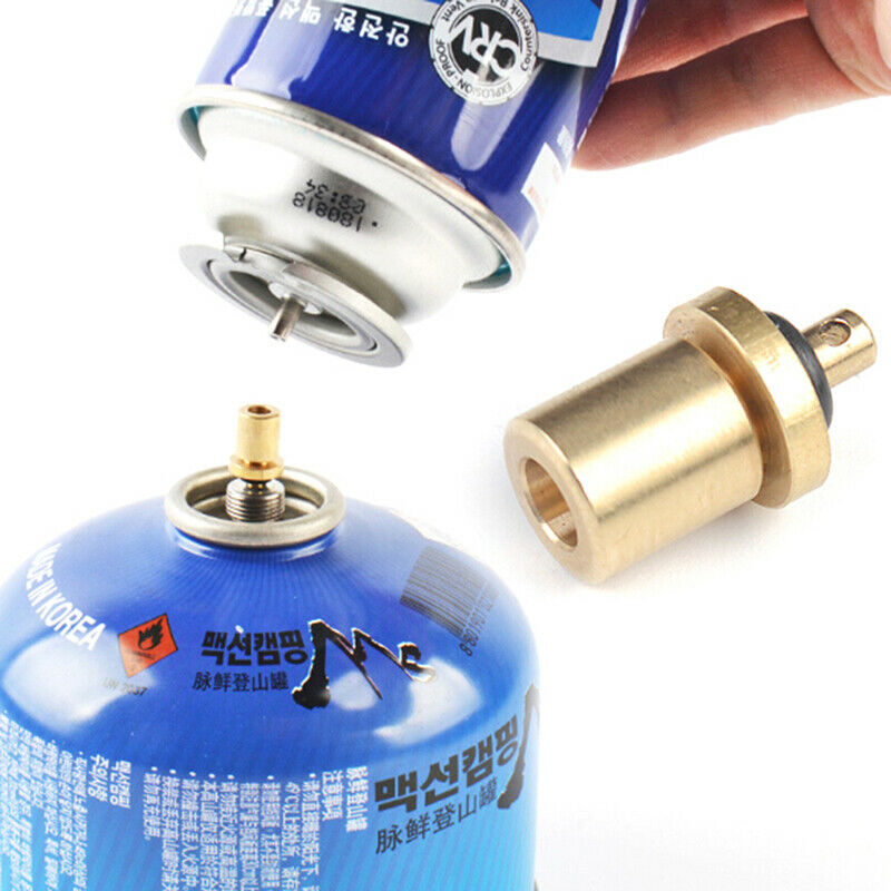 Gas  Refill Adapter Outdoor Camping Stove Cylinder Filling Butane Canister Pxj