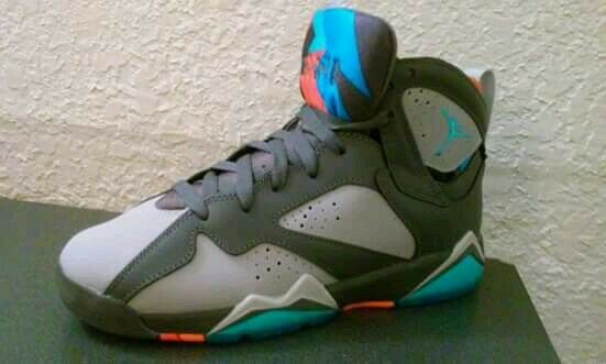 New Nike Air Jordan 7 VII Retro Barcelona Days Bobcats Grey 304775-016 Price reduction Cheap women's shoes women's shoes