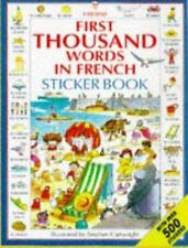 First Thousand Words in French Sticker Book (Picture Word Books Series) by Amer