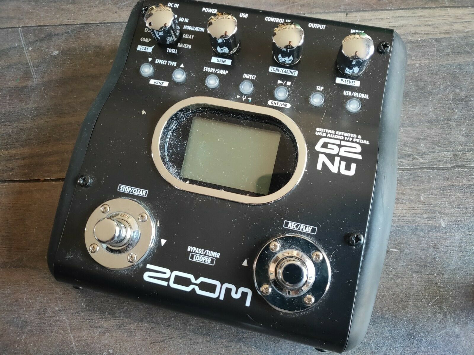 ZOOM G2nu Guitar Multi Effects Pedal   Audio Interface