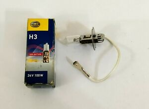 H3 100 Watt Halogen Light Bulb 12V 100W Long Life T3 Cars lamp PK22S Fog lights