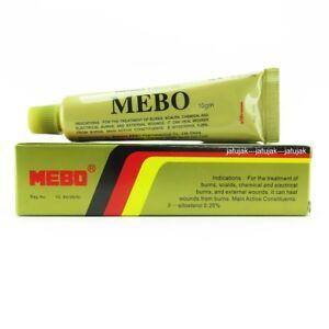 Mebo Burn Healing Ointment Cream Treatment Scalds 10g Exp 2022