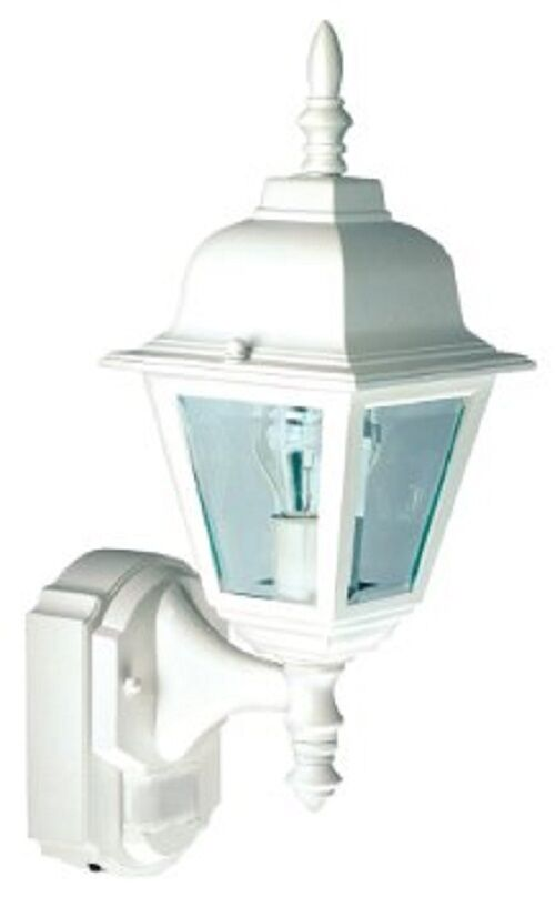 Heath Zenith HZ-4191-WH movimiento activada Country Cottage al aire libre luz de parojo
