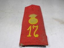 WWI VINTAGE Imperial Germany Field Artiillery Shoulder Board 17th