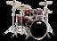 PDP-by-DW-Shellset-Concept-Maple-CM5-Red-to-Black-Sparkle-Schlagzeug-Drumset Indexbild 1